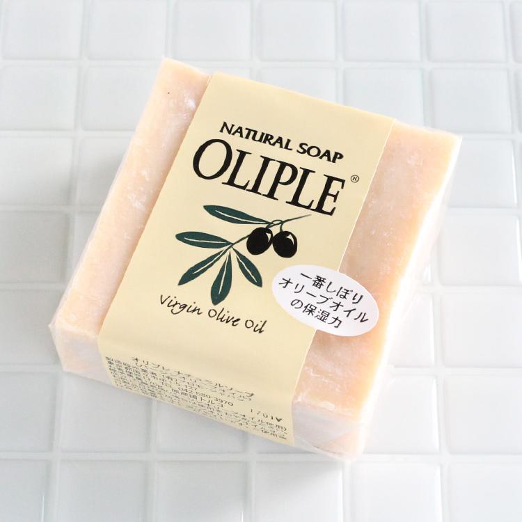 オリプレナチュラルソープバージンオリーブオイル 石鹸 洗顔 洗顔フォーム 洗顔料 洗顔石鹸 固形 ボディソープ 毛穴 無添加石鹸 オーガニック|lalume
