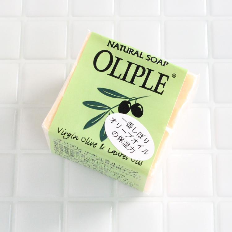 オリプレナチュラルソープバージンオリーブ&月桂樹オイル 石鹸 洗顔 洗顔フォーム 洗顔料 洗顔石鹸 固形 ボディソープ 毛穴 無添加石鹸 オーガニック|lalume