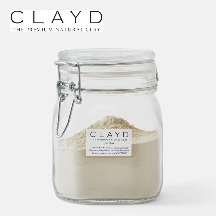 CLAYD(クレイド) キャニスターセット400 入浴剤 クレイ 天然 泥 パック お風呂 エステ スパ|lalume