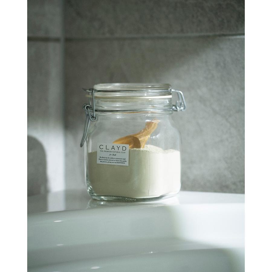 CLAYD(クレイド) キャニスターセット400 入浴剤 クレイ 天然 泥 パック お風呂 エステ スパ|lalume|02