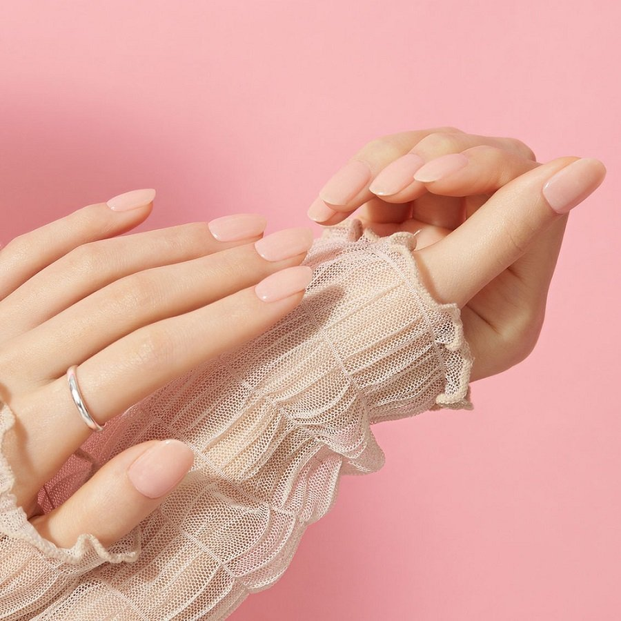 EDGEU エッジユー ジェルネイルシール 硬化 貼って固める セルフネイル ネイルステッカー END109 MUSLIN PINK|lalume|05