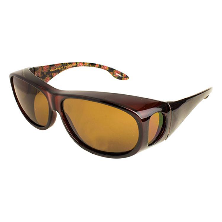 エッジスタイル プロテクション 花粉メガネ メガネの上から 花粉症対策 UVカット 紫外線カット くもり止め加工レンズ 曇り止め 女性用 lalume 02