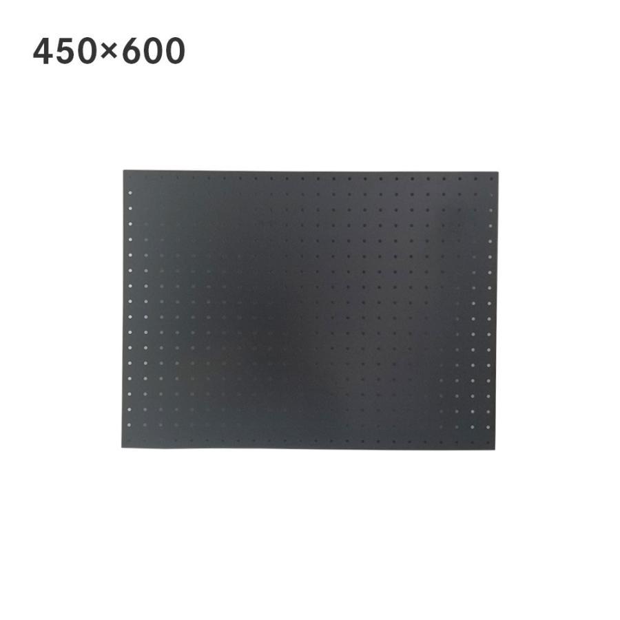 サンカ スチールパンチングボード 450×600mm 定番の人気シリーズPOINT ポイント 入荷 引き出物 ブラック 有孔ボード 60001