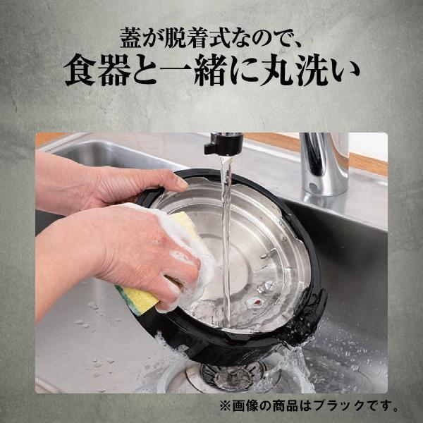 ユアサ 電気圧力鍋 YBW20-70W lamd 04