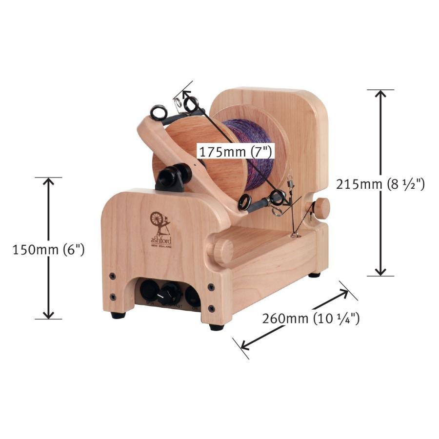 アシュフォード 電動スピナー3 e-Spinner 3 ラッカー塗装 <紡ぎ 紡ぎ車 ashford>|lamerr|06