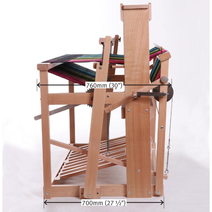 アシュフォード ジャックルーム jackloom ラッカー塗装 組立キット <織機 手織り機 機織り機 ashford>  予約制 lamerr 06