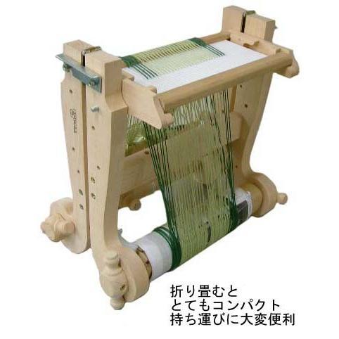 クロムスキー クロッスノ織り機20cm ラッカー塗装 組立キット <卓上 手織り機 kromski>|lamerr|02