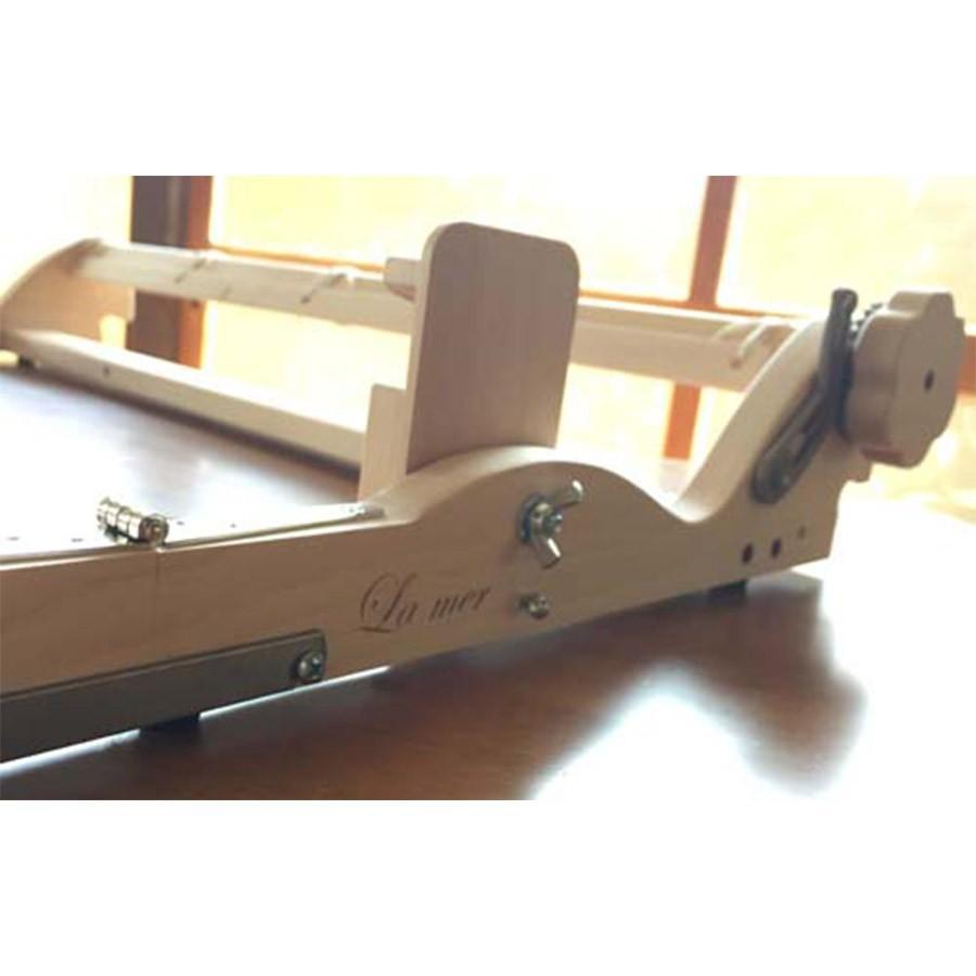ラ・メール ラ・メール ルーム40cm 白木 組立済み完成品 <卓上 手織り機 ashford>|lamerr|02