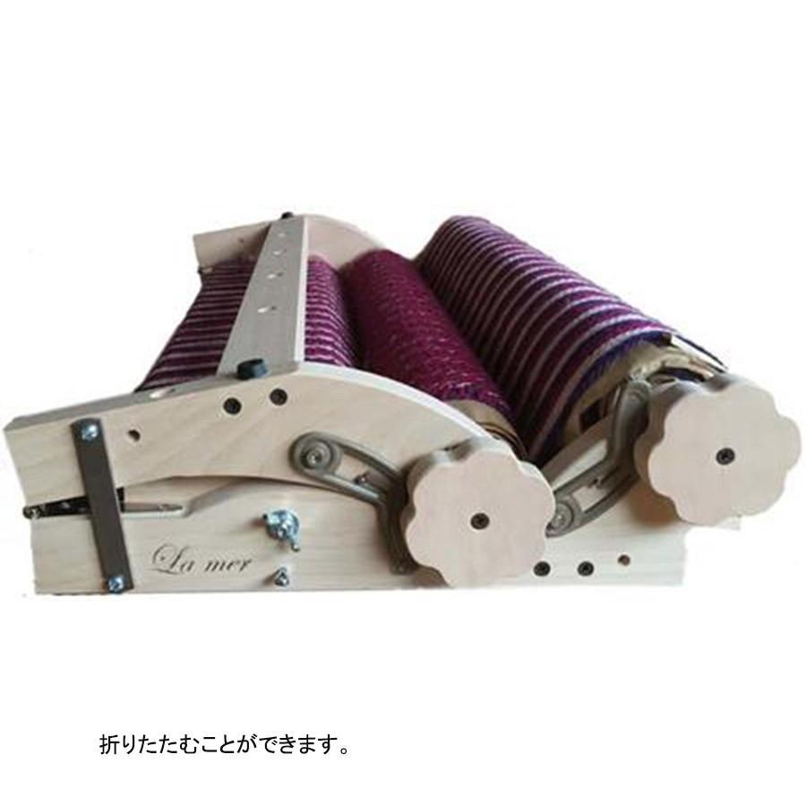 ラ・メール ラ・メール ルーム40cm 白木 組立済み完成品 <卓上 手織り機 ashford>|lamerr|04