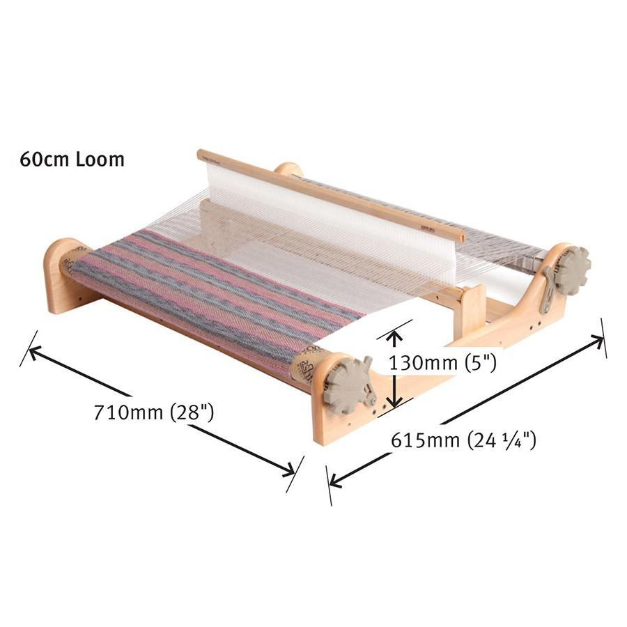 アシュフォード リジッドヘドル60cm 白木 組立キット <卓上 手織り機 ashford>|lamerr|02