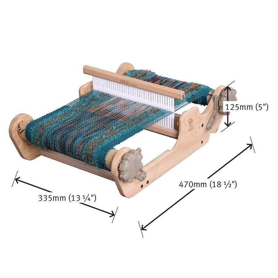 アシュフォード サンプルイットルーム 25cm 白木 組立キット <卓上 手織り機 ashford>  New lamerr 03