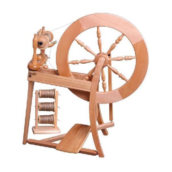 アシュフォード トラディショナル紡毛機 白木 組立キット <紡ぎ 紡ぎ車 ashford>|lamerr