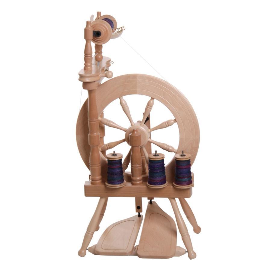 アシュフォード トラベラー紡毛機 白木 組立キット <紡ぎ 紡ぎ車 ashford>|lamerr