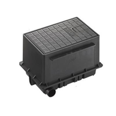 三栄 SANEI 散水栓ボックスセット 黒 R81-93S-D(同梱不可) R81-93S-D(同梱不可) R81-93S-D(同梱不可) 31d