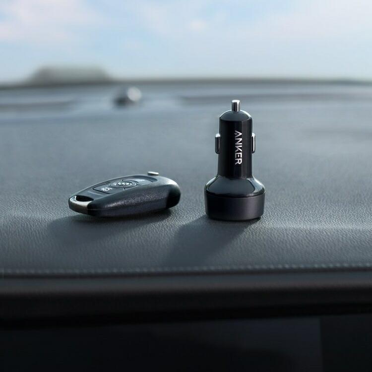 Anker PowerDrive PD+2 カーチャージャー 33W シガーソケット A2721 PowerIQ 2.0車載充電器 急速充電 USB-C USB|lamp|07