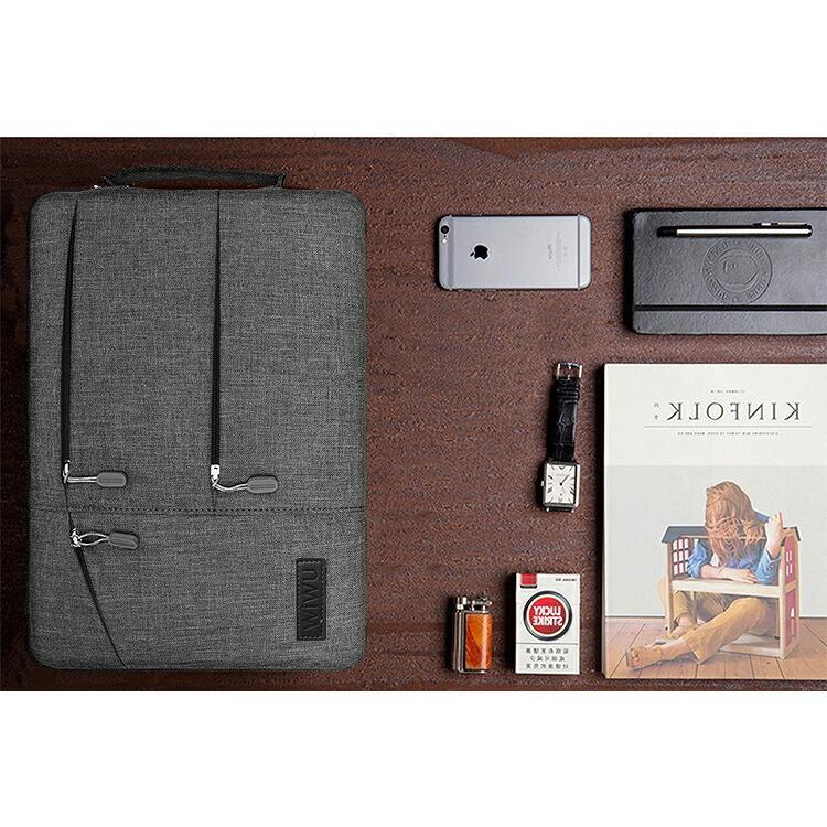 wiwu 12インチ ビジネスバッグ インナーバッグ PCケース 2色ipad/surface pro/surfacebook/macbook/ノートパソコン/Laptop2/タブレット|lamp|16