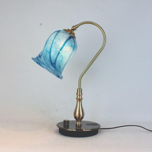 琉球ガラステーブルランプ GlassStudio尋 fc-210g-ryukyu2s 卓上ライト 琉球ガラス