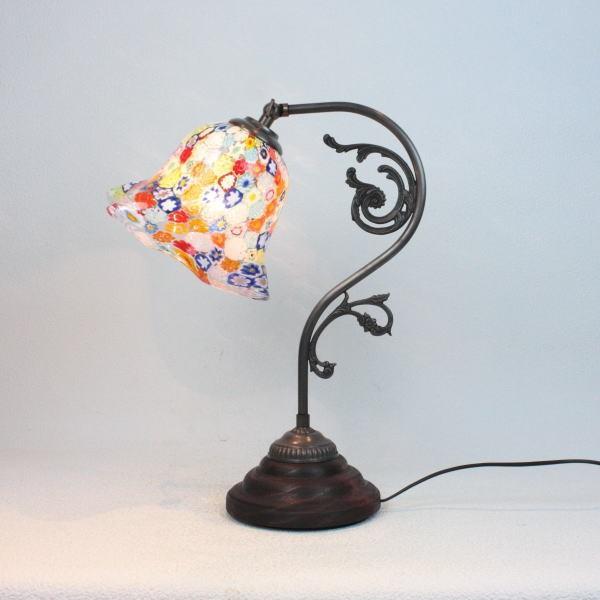 テーブルランプ 卓上ランプ ベネチアングラス ベネチアンガラス ガラス イタリア製 fc-600a-elml10