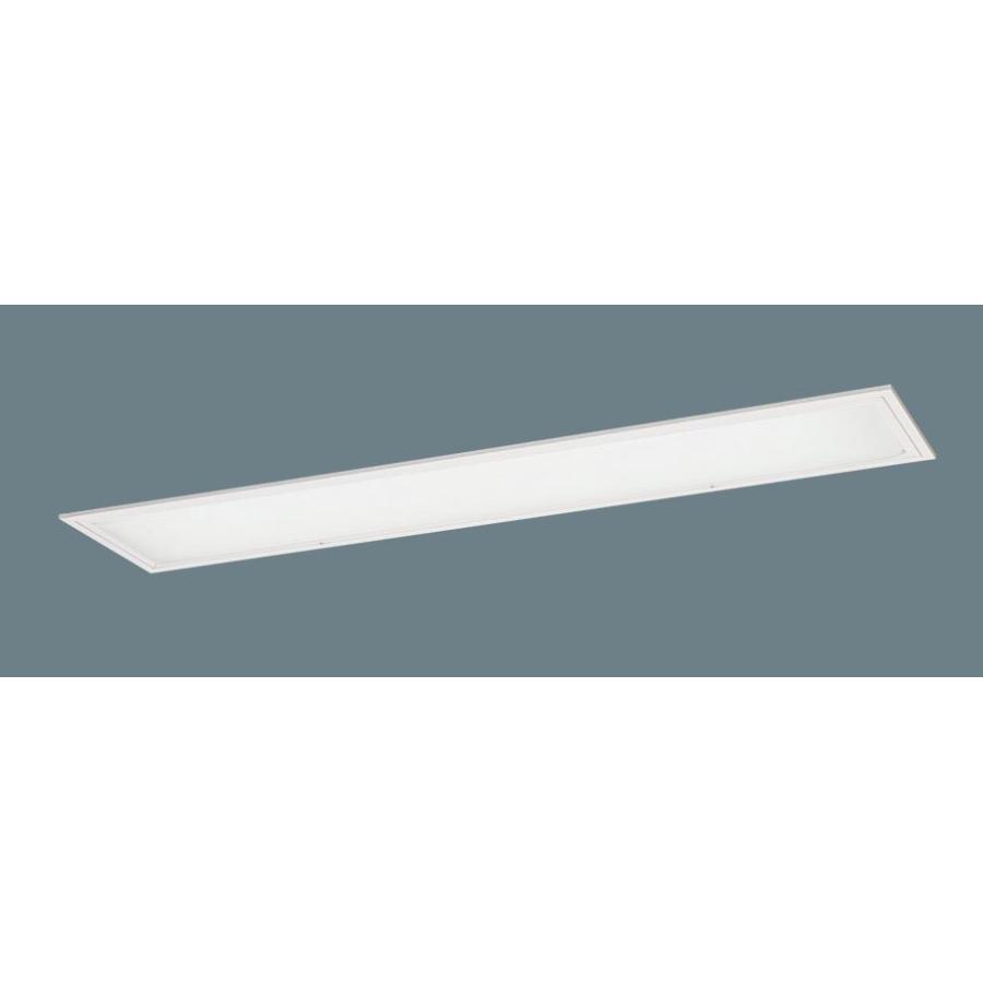 パナソニックXFL323PFLE9(昼白色ランプ2600 lmKタイプと組合せ)天井埋込直管LED40形x2灯◆埋込穴幅:220 mm 乳白パネルフリーコンフォート
