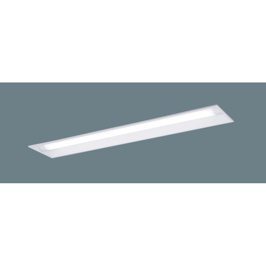 パナソニックXLW442UENZLE9(防湿型・防雨型・一般タイプ・4000 lmタイプ・昼白色・非調光) 天井埋込型◆埋込穴幅:220 mm  40形