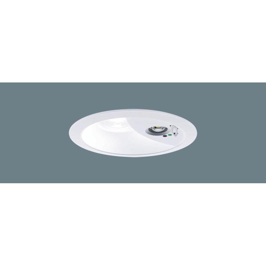 パナソニックダウンライト(非常用)埋込穴φ150  XNG0661WNLE9  LED(昼白色)一般型(30分間)・ビーム角85度・拡散タイプ・蛍光灯FHT16形1灯器具相当