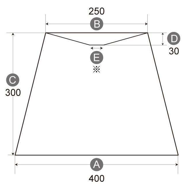 A40253-asa 交換用ランプシェード アーム式 ホテル型 照明 シェードのみ 笠 傘  麻布(綿麻混紡) フロアライト向け|lampshade1949|02