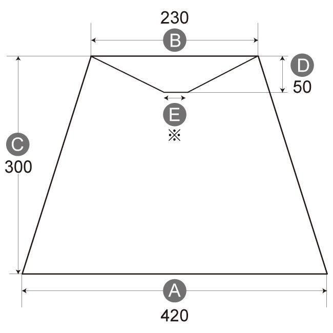 A42237-s 交換用ランプシェード アーム式 ホテル型 照明 シェードのみ 笠 傘  プリーツ素材 フロアライト向け lampshade1949 02