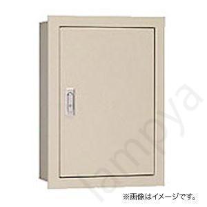 盤用キャビネット 埋込形 BF16-58 フカサ160mm 木製基板付 ライトベージュ色(BF1658)〔代引不可〕