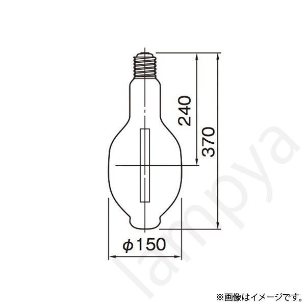 HIDランプ NH660F・LSS(NH660FLSS) 東芝ライテック(TOSHIBA)