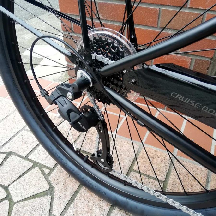自転車 RAINBOW PCH101 29er-8D DARTH-VADER レインボー ビーチクルーザー 29インチ 8段変速付 おしゃれ 通勤 通学 メンズ レディース|lanai-makai|13
