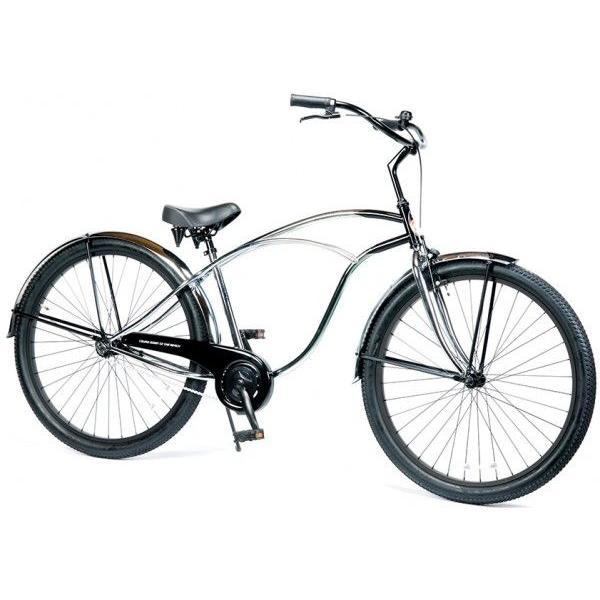 自転車 RAINBOW PCH101 29er クロームポリッシュ レインボー ビーチクルーザー 29インチ 8段変速付 おしゃれ 通勤 通学 メンズ レディース|lanai-makai|02