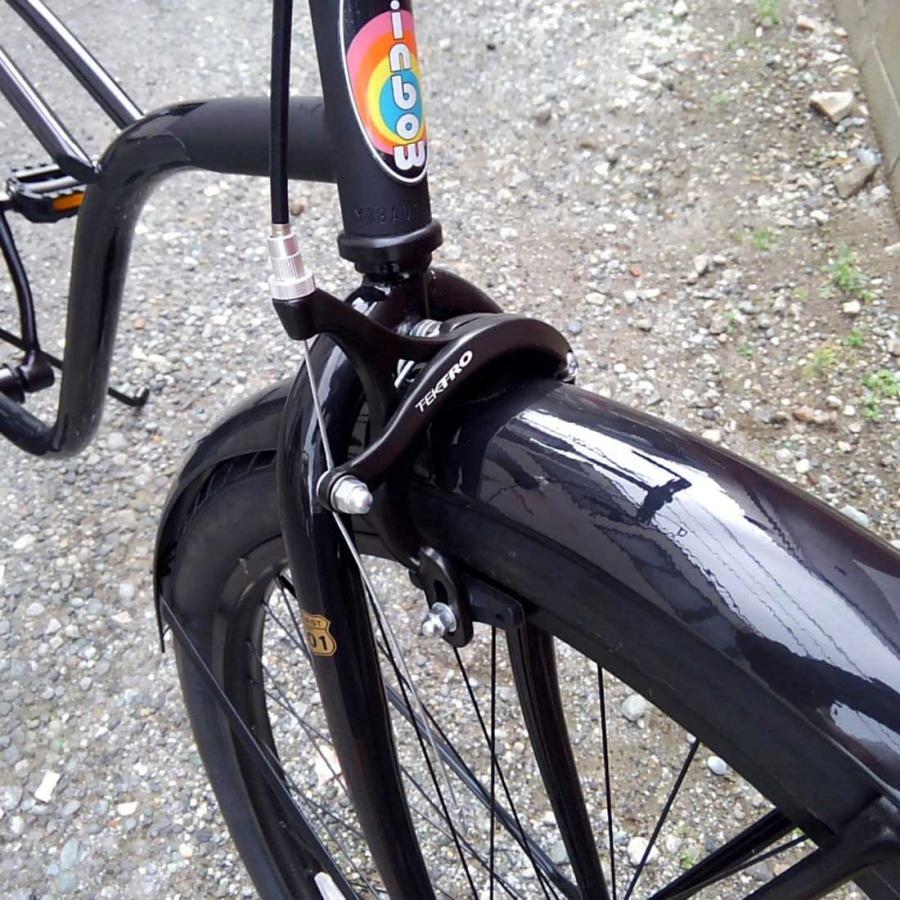 自転車 RAINBOW PCH101 29er グロスブラック×マットブラック レインボー ビーチクルーザー 29インチ 8段変速付 おしゃれ 通勤 通学 メンズ レディース lanai-makai 10