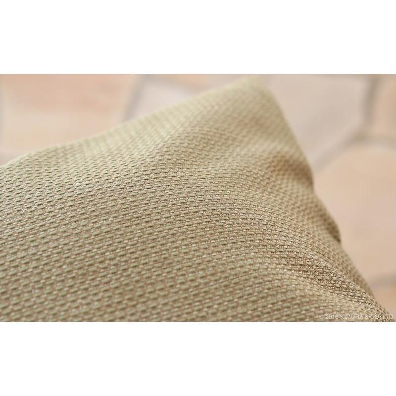クッションカバー 45×45cm おしゃれ 角型 カラー6色 アジアン雑貨 バリ 無地 アクビィ 専用-スペア ACF045|landmark|04