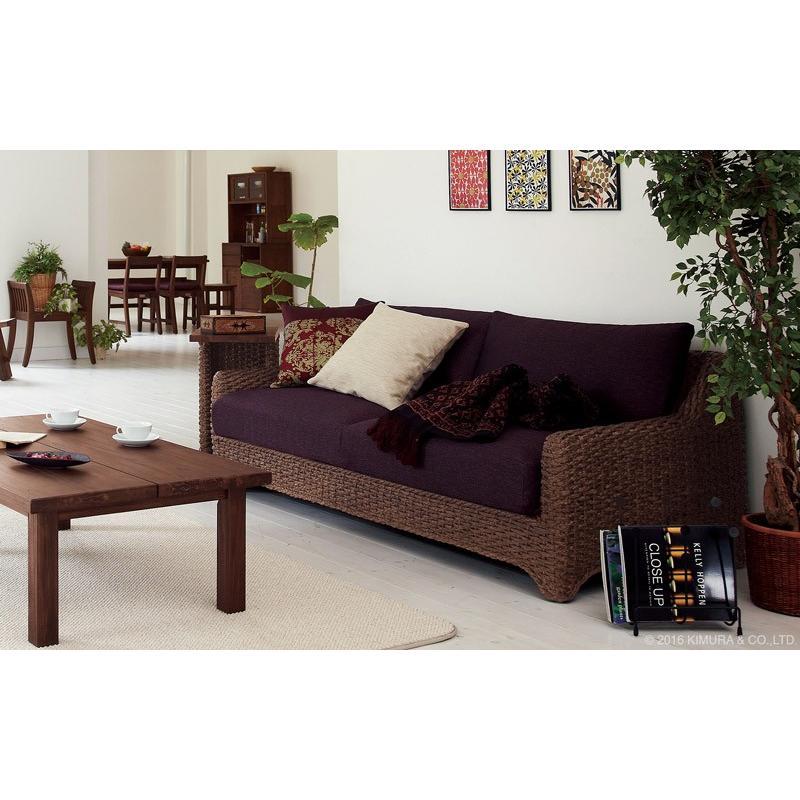 クッションカバー 45×45cm おしゃれ 角型 カラー6色 アジアン雑貨 バリ 無地 アクビィ 専用-スペア ACF045|landmark|05