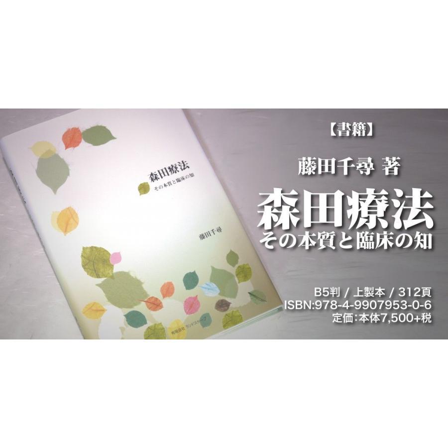 『森田療法 その本質と臨床の知』【書籍】|landscape-store|02