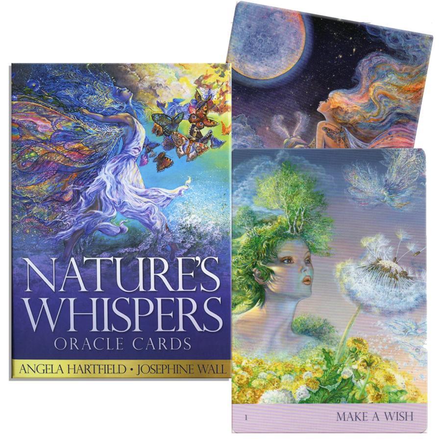新色追加 ネイチャーズ ウィスパー オラクルカード 50枚 日本語説明書付き 海外並行輸入正規品 アンジェラ ウォール Whispers ハートフィールド ジョセフィン Nature#039;s