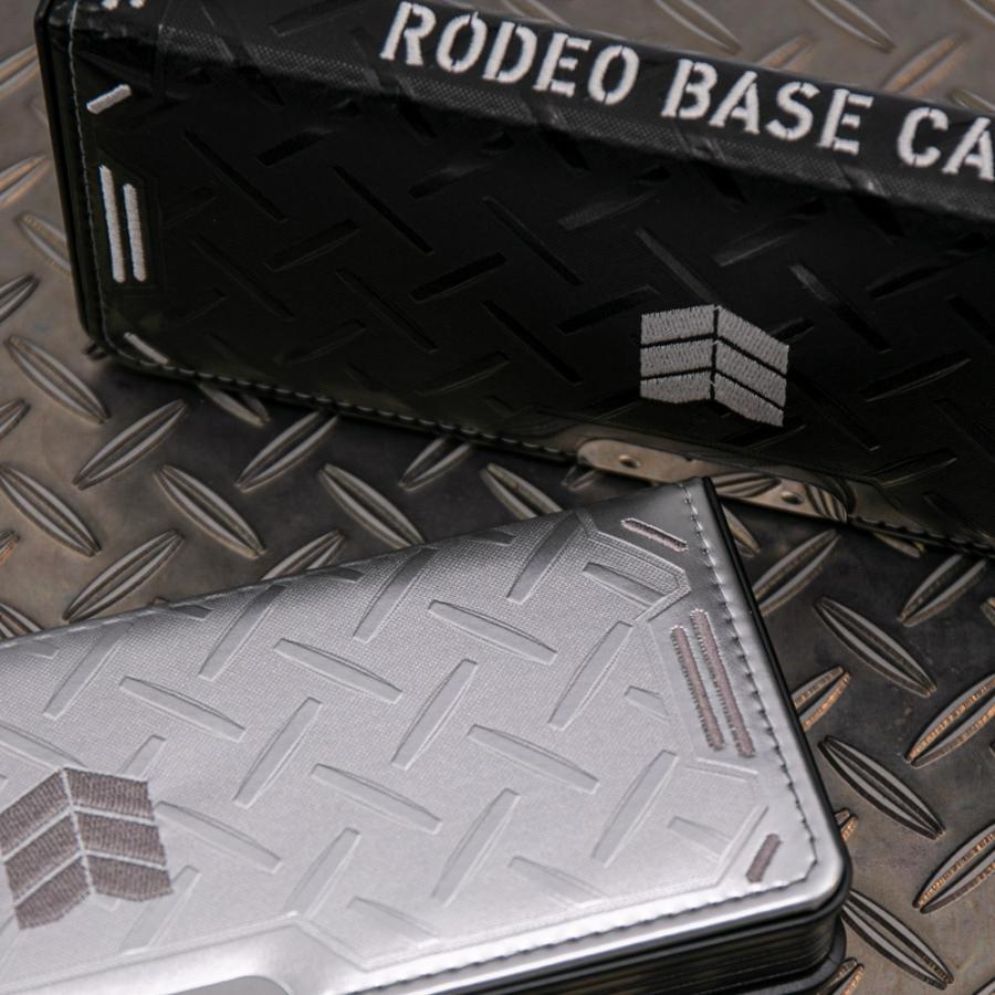 LIRICO リリコ 筆箱 ロデオ ベースキャンプ ペンケース 筆入れ 両面 2ドア ブラック シルバー|lapiz|08
