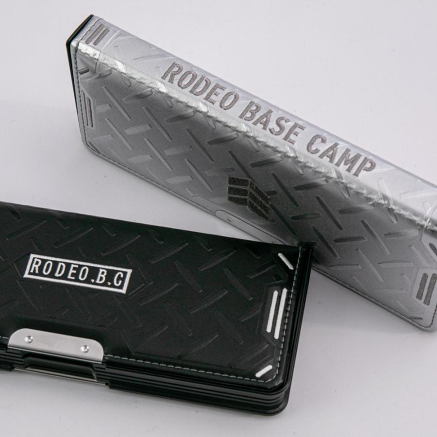 LIRICO リリコ 筆箱 ロデオ ベースキャンプ ペンケース 筆入れ 両面 2ドア ブラック シルバー|lapiz|09