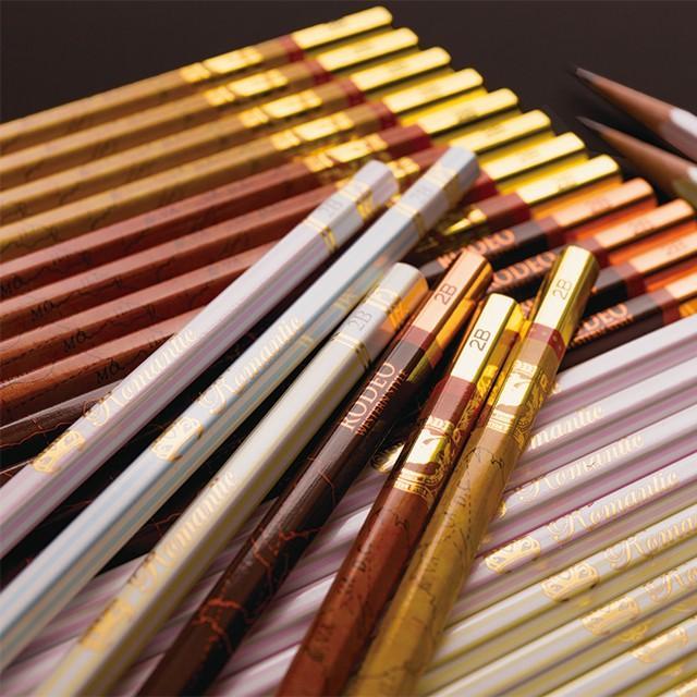 LIRICO リリコ 三菱鉛筆 uni 名入れ 鉛筆 ロマンティック鉛筆/ロデオ鉛筆 六角軸 2B 12本入り 卒園 記念品 卒業 入学 祝い 準備|lapiz