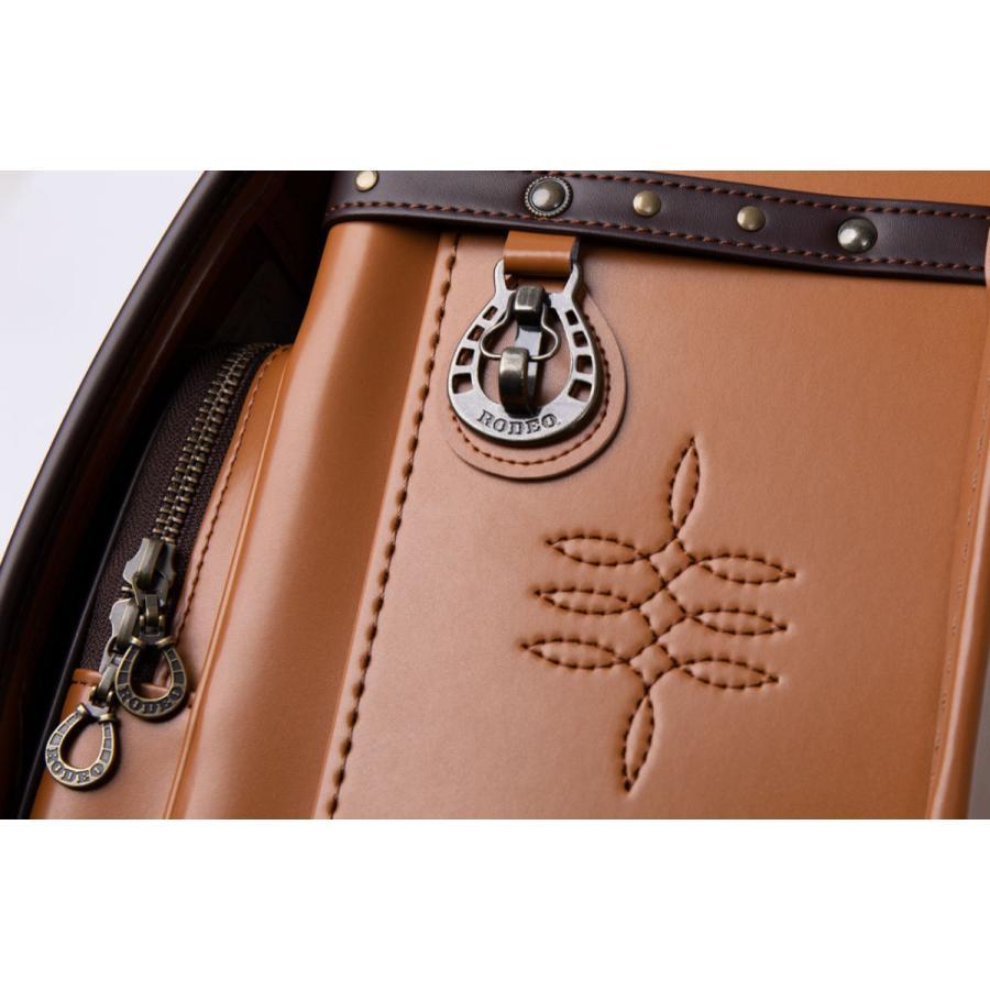 リリコ ランドセル 男の子 送料無料 ウエスタンスタイル ロデオ ランドセル 2022年モデル A4フラットファイル対応 LIRICOブランド|lapiz|09