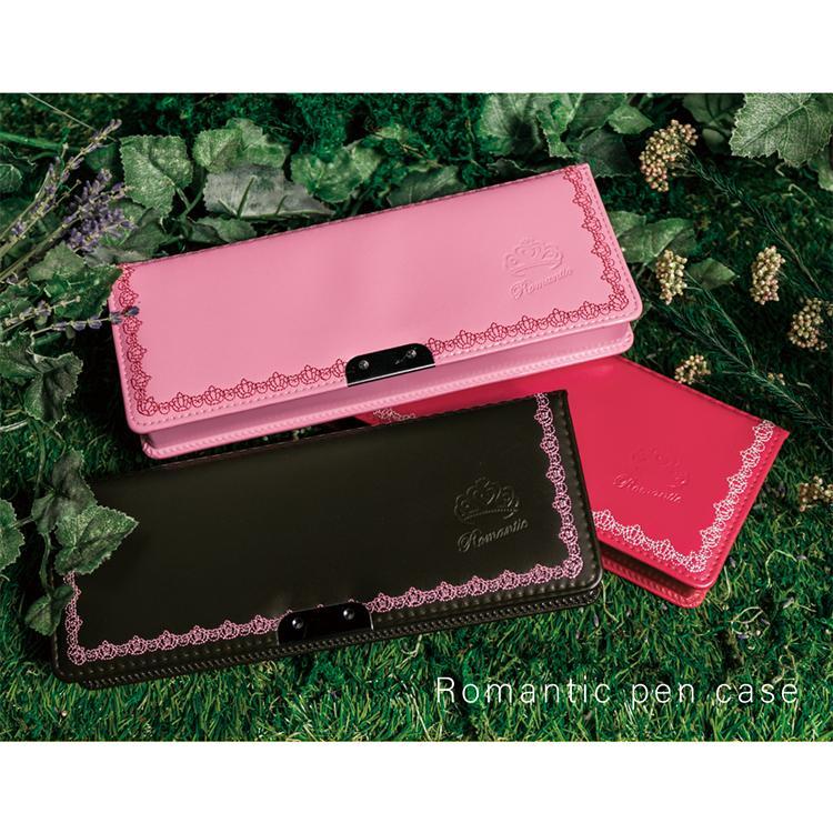 LIRICO リリコ 筆箱 ロマンティック ペンケース 筆入れ ピンク ブルー ブラウン ブラック|lapiz|21