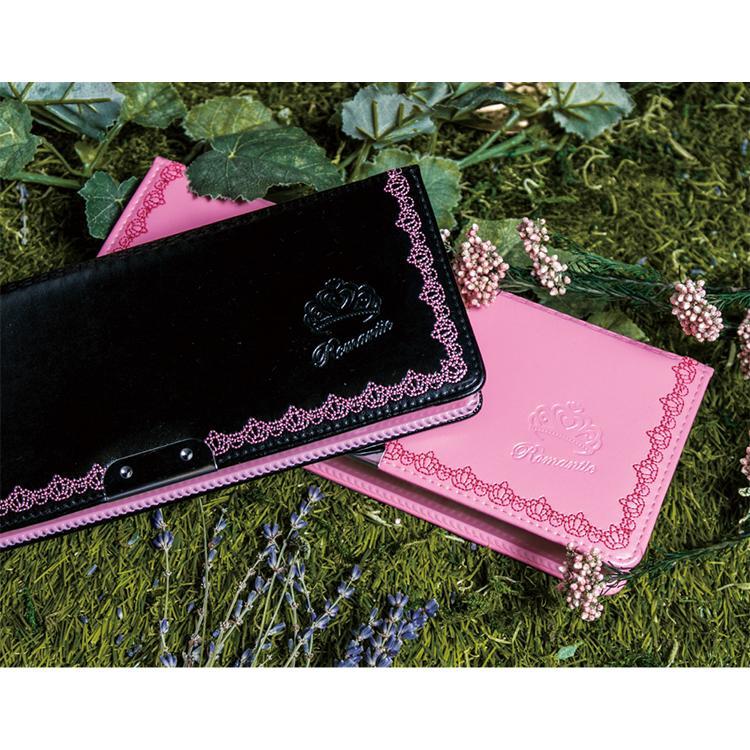 LIRICO リリコ 筆箱 ロマンティック ペンケース 筆入れ ピンク ブルー ブラウン ブラック|lapiz|06