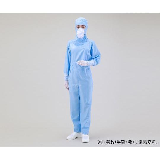クリーンスーツ 3L ブルー 1-2668-01
