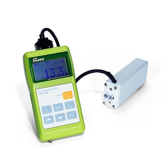 電気式水分計 MR-200II 本体 1-4440-02