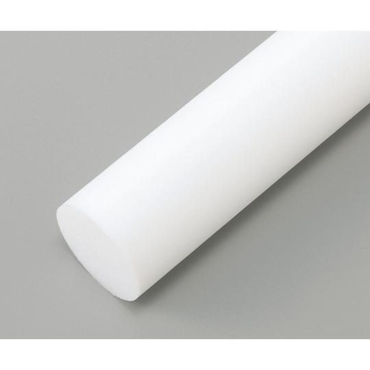 樹脂丸棒 PTFE φ100mm×495mm 2-9576-21
