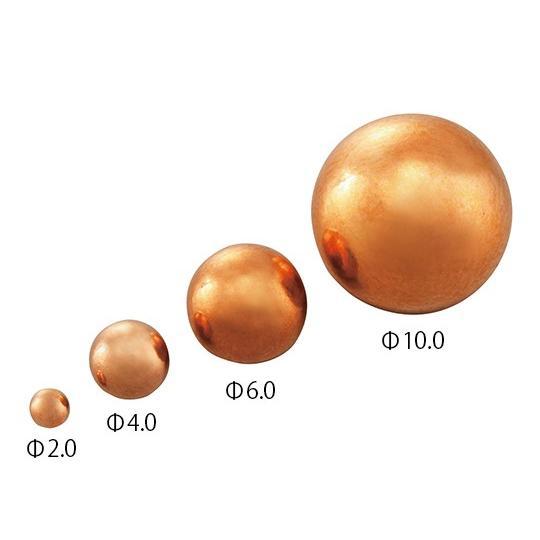 銅球 Φ6.0mm 100個入 3-7507-06