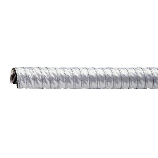 耐熱ダクトホース(特殊コーティングガラスクロス) 90mm 3-9628-04