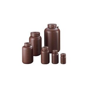 サンプラテック PE広口遮光瓶 2L 2914