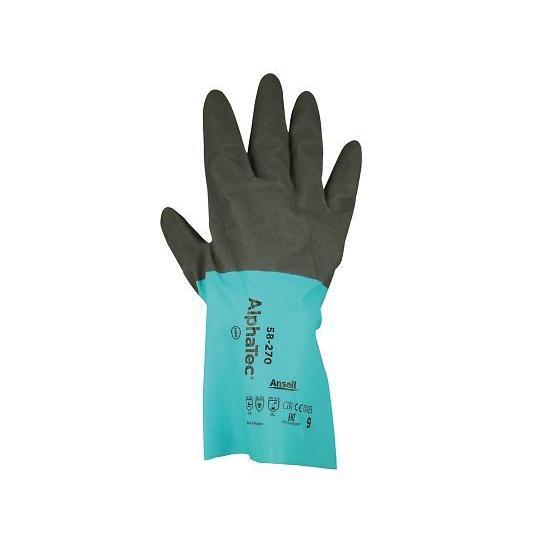 化学防護手袋 M おしゃれ 売れ筋 1双 58-270 4-825-02