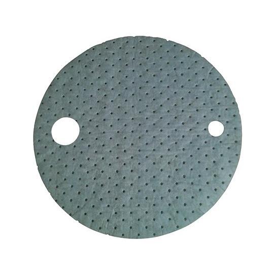 油水兼用吸収材 ドラム缶用(アブラトール) Φ550×3mm 3-7543-01